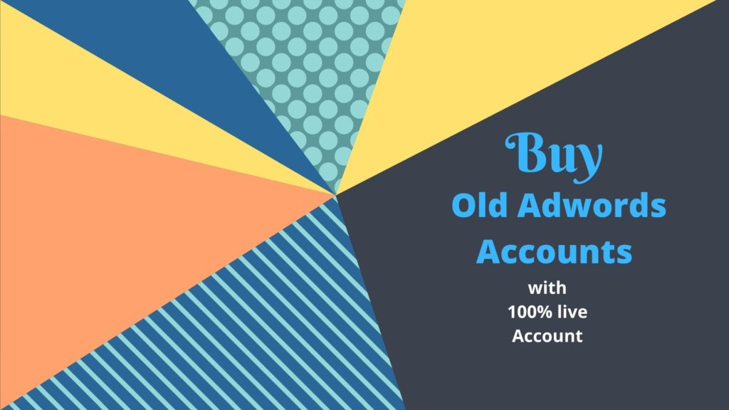 buy old adwords accounts