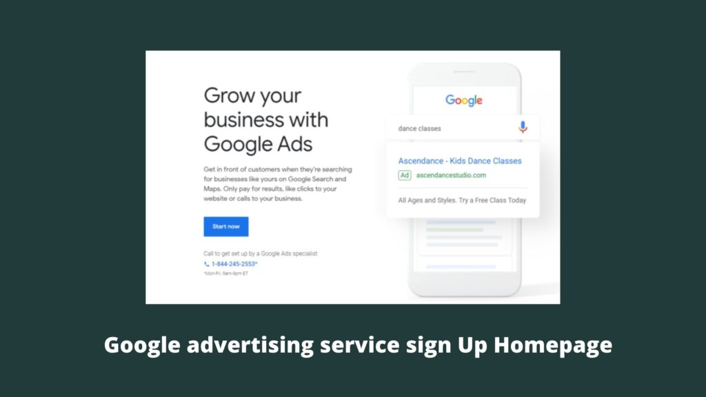 Google advertising service