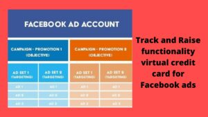 virtual card for facebook ads
